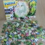 Spielzeugtest: Puzzle Magic Forest mit Glitzerdruck und Diamanten